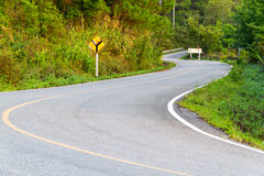 Droga wysoka góra - 1 Zdjęcia Royalty Free