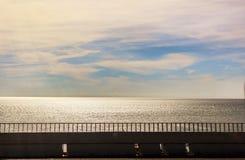 Droga wzdłuż morza Obraz Stock