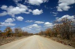 droga zakurzona zdjęcie stock