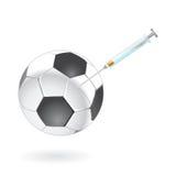 Drogando e droghe dallo sport Fotografia Stock