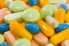Drogas Fotografia de Stock Royalty Free