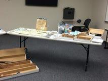 Drogas, armas y pruebas Fotos de archivo libres de regalías
