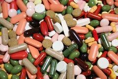 Drogas coloridas Fotos de archivo libres de regalías