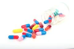 Drogas, comprimidos e tabuletas Foto de Stock