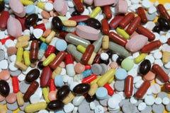 Drogas de Colorfull Imagem de Stock Royalty Free