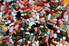 Drogas de Colorfull Foto de Stock Royalty Free