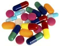 Drogas de la medicina Imágenes de archivo libres de regalías
