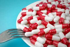 drogas de la pérdida de peso de la prescripción fotos de archivo libres de regalías