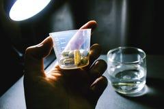 Drogas e comprimidos Imagem de Stock Royalty Free