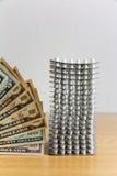 Drogas e dinheiro Imagem de Stock