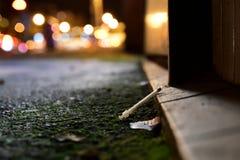 Drogas na cidade - fotografia da rua Fotografia de Stock