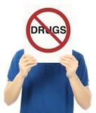 Drogas no permitidas Fotos de archivo libres de regalías