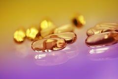 Drogas o vitaminas Imagen de archivo libre de regalías