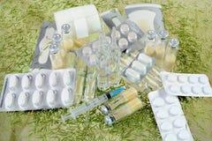 Drogas para o tratamento dos pacientes Foto de Stock Royalty Free