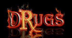 Drogas Rx Imagen de archivo libre de regalías