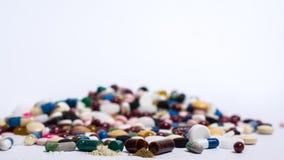 Drogas y píldoras Foto de archivo