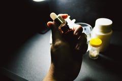 Drogas y píldoras imagen de archivo libre de regalías