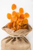 Droge abrikozen Stock Foto