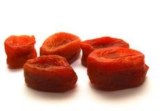 Droge abrikozen Stock Fotografie