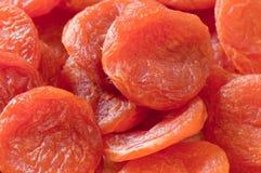 Droge abrikozen. Ecologisch voedsel. Royalty-vrije Stock Afbeelding