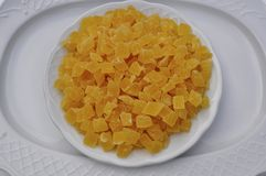 Droge ananas Stock Foto
