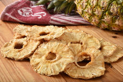 Droge ananas Royalty-vrije Stock Afbeelding