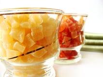 Droge ananas Stock Foto's
