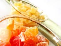 Droge ananas Royalty-vrije Stock Foto's