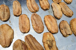 Droge banaan Stock Foto