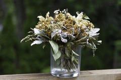 Droge bloemen Royalty-vrije Stock Foto's