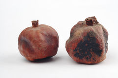 Droge granaatappels royalty-vrije stock fotografie