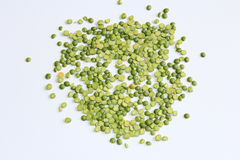 Droge groene erwten Royalty-vrije Stock Fotografie