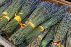 Droge lavendelboeketten in de Provence Royalty-vrije Stock Afbeelding