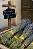 Droge lavendelboeketten in de Provence Royalty-vrije Stock Foto