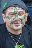 Droge-Legalisierung-Protest, Welthanf März Lizenzfreie Stockfotografie
