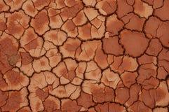 Droge modder in de zonneschijn Royalty-vrije Stock Afbeelding
