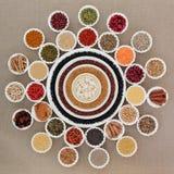 Droge Natuurlijke voeding Royalty-vrije Stock Foto