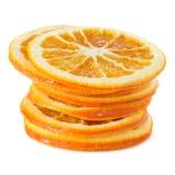 Droge Oranje Plakken royalty-vrije stock afbeelding