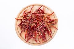 Droge peper voor het koken Royalty-vrije Stock Afbeeldingen
