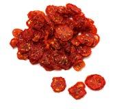 Droge plakken van tomaat royalty-vrije stock foto