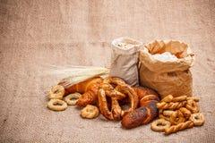 Droge pretzel stock foto
