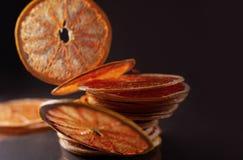 Droge ringen van grapefruit royalty-vrije stock foto