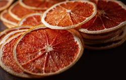 Droge ringen van grapefruit royalty-vrije stock fotografie
