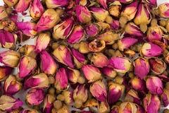Droge rosebuds Royalty-vrije Stock Foto