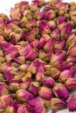 Droge rosebuds Royalty-vrije Stock Foto's