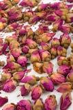 Droge rosebuds Stock Afbeelding