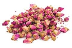 Droge rosebuds Royalty-vrije Stock Fotografie