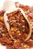 Droge Spaanse peper stock afbeelding