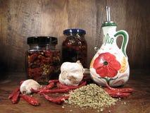 Droge tomaten Stock Foto