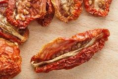 Droge tomaten Royalty-vrije Stock Foto's